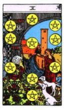 THE TENS OF PENTACLES