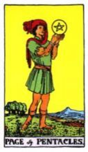THE PAGES OF PENTACLES