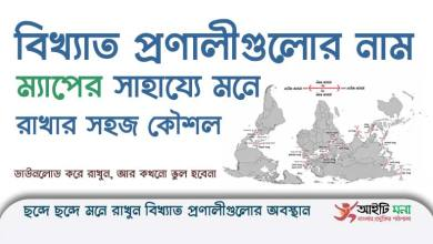 Straits Map Download For BCS & Job Examination