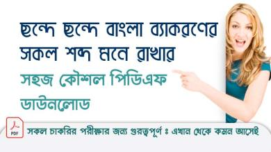 Bangla Grammar Word Easy Techniques