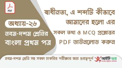 ssc-bangla-first-paper-mcq-pdf-download-chapter-26