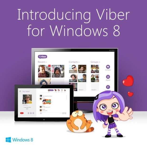 Viber_Windows 8 image 3