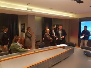 """a.s. 2017/2018 -  Premiazione alla Compagnia di Navigazione """"Grimaldi"""" per le borse di studio allievi a.s. 2016/2017"""