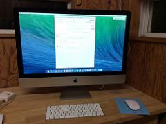 iMacが来ました