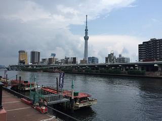 厩橋から隅田川
