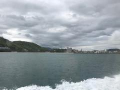 淡路島の洲本市市に到着