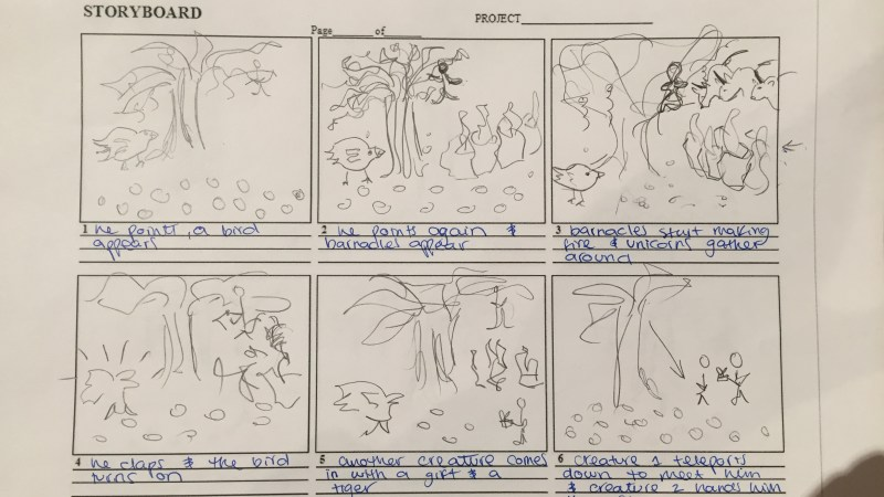 Stop-motion Storyboard