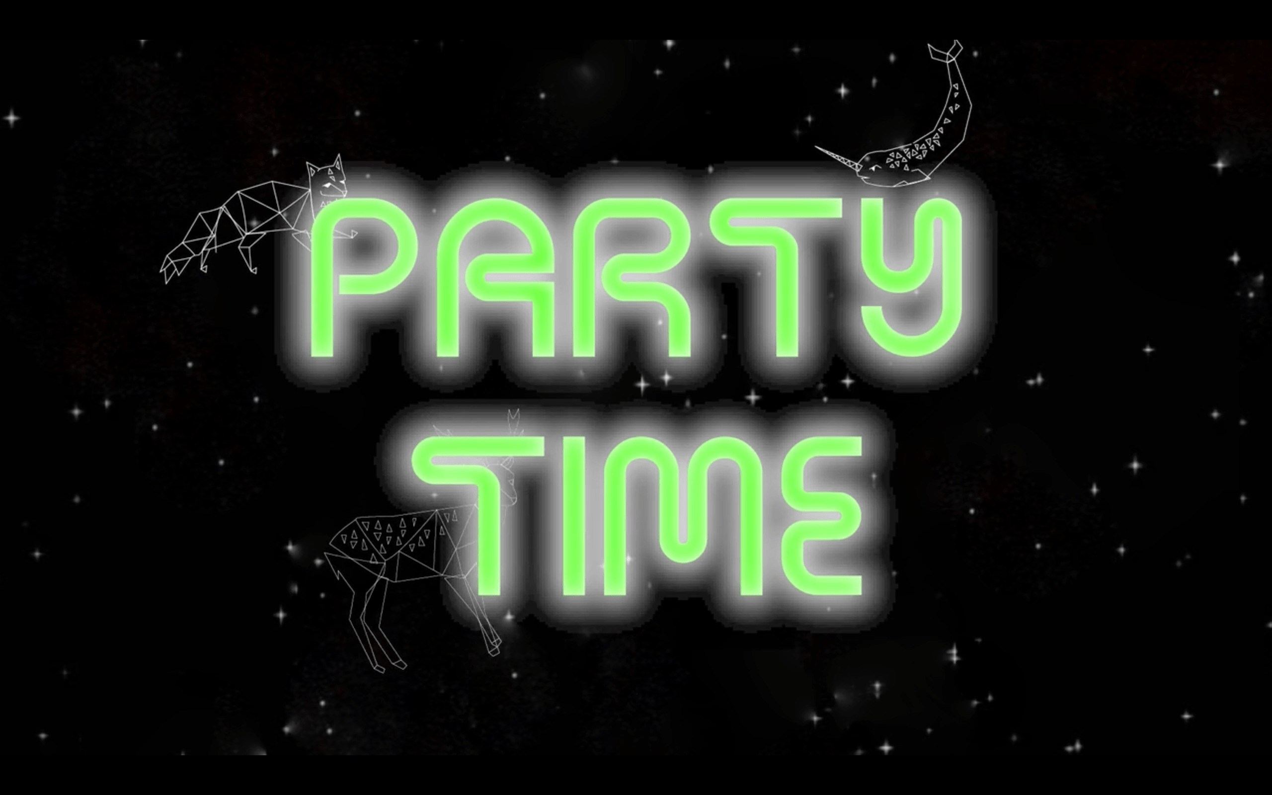 [FINAL] Let's Party, in the galaxy