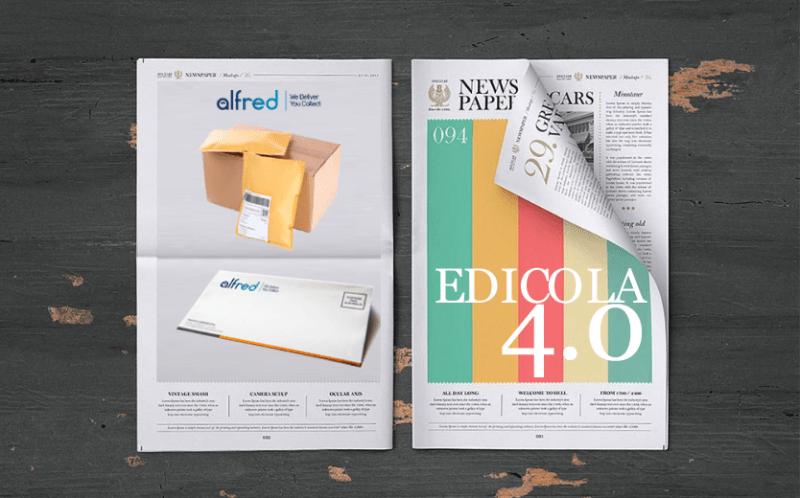EDICOLA 4.0: SI RIPARTE DAL DIGITALE CON ALFRED ITALIA