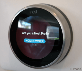 NNest Learning Thermostat 3rd Generation Homeowner Nest Pro