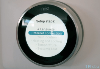 Nest Learning Thermostat 3rd Generation Language confiramtion