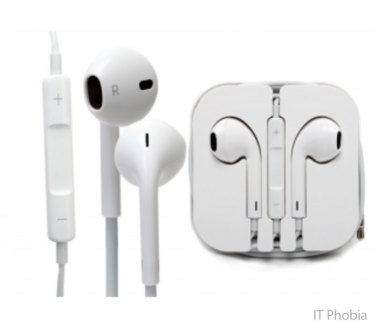 Apple Earpods with Remote and Mic Full set