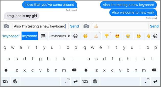 iPhone Emoji Keyboard Minuum