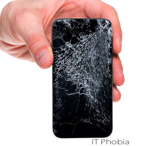 windows phone pros and cons screen cracked