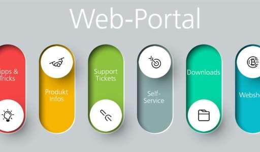 Funktionen eines Web-Portals