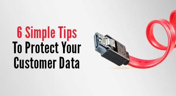 protect your customer data