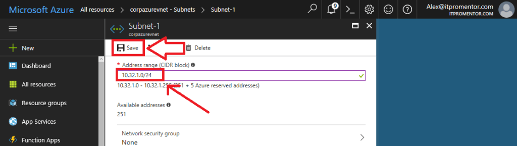 Tutorial: How to Setup Azure Virtual Network with Windows