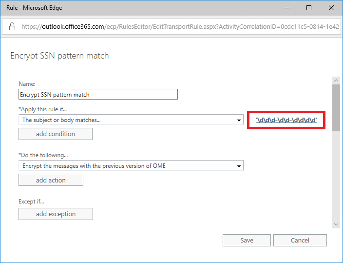 Reading the fine print for Data Loss Prevention (DLP) in Office 365