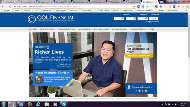 1-log-in-to-col-financial