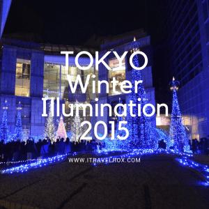 tokyo winter illumination 2015