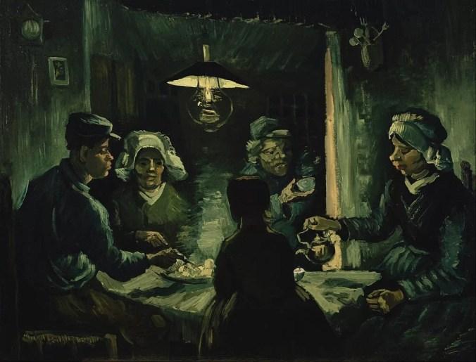 Potato Eaters Van Gogh Painting
