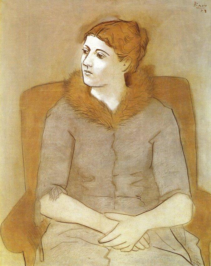 Portrait of Olga [1923]