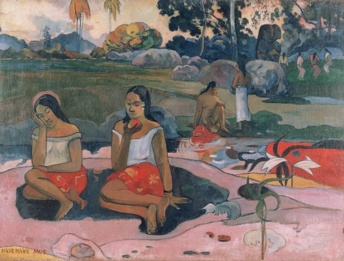 Sacred Spring: Sweet Dreams - Paul Gauguin paintings