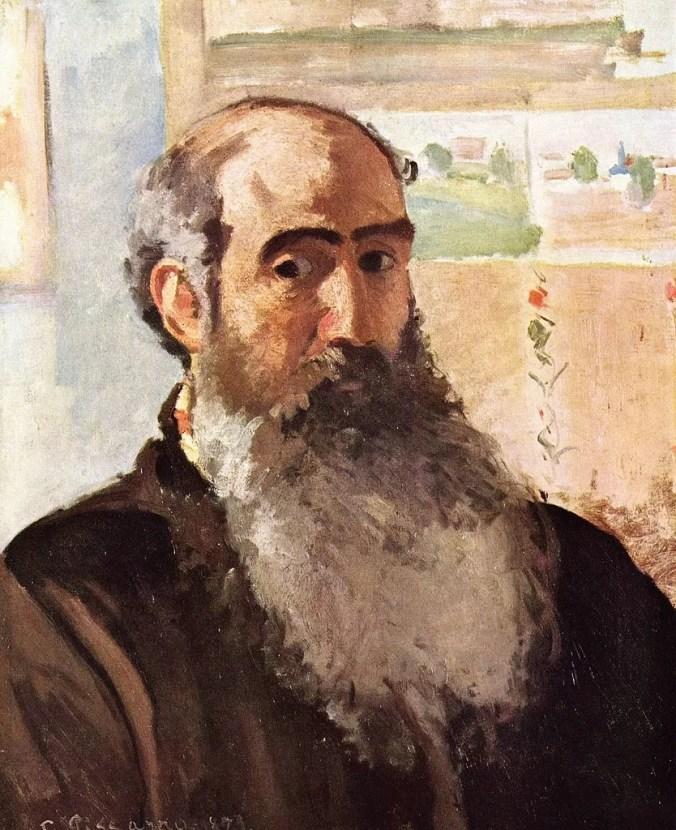 Camille Pissarro Paintings - Self Portrait