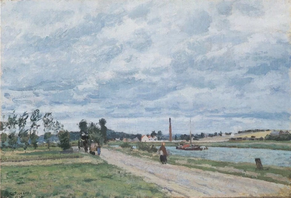 The Banks of the Oise near Pontoise