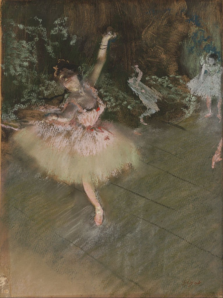 Edgar Degas' paintings