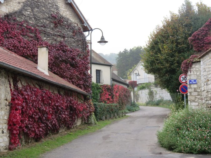 Streets of Giverny - French landscapes