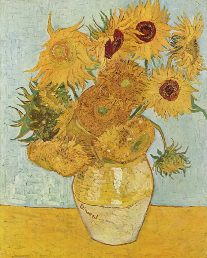Sunflowers - iconic Van Gogh art