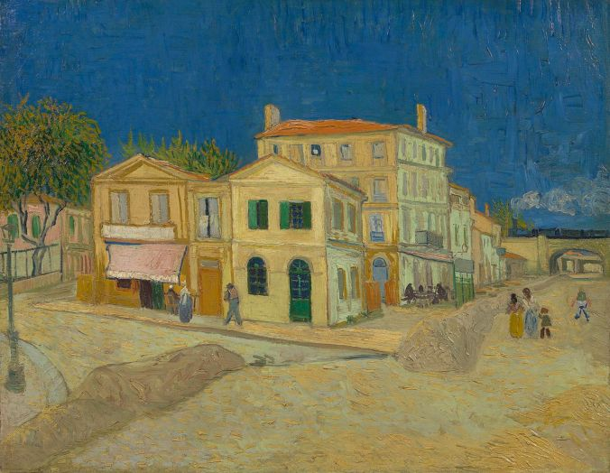 Yellow House - Famous Van Gogh painting