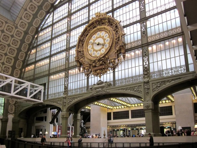Musee D'Orsay - the largest of the Impressionism Art Museums in Paris