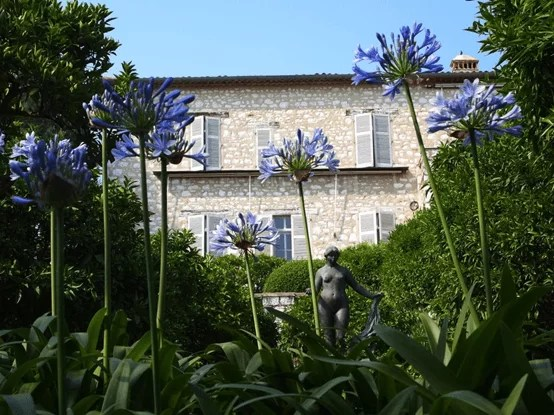 Musee Renoir in Cagnes-sur-Mer, the former house of Renoir