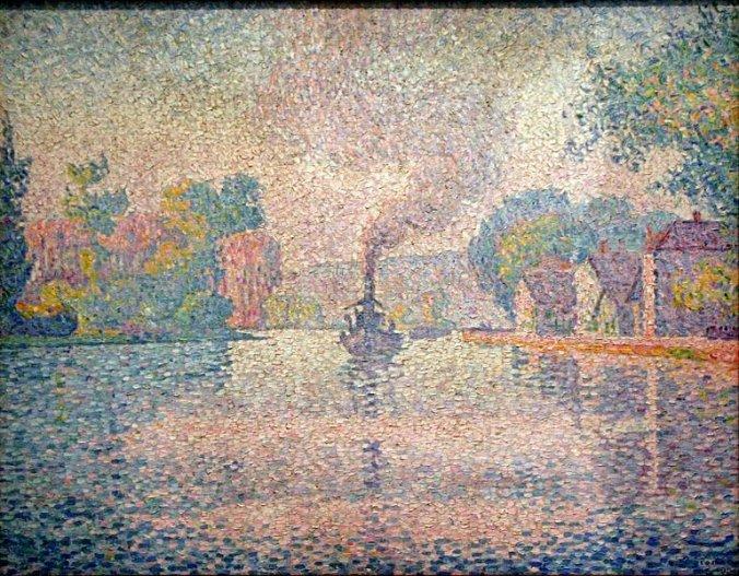 Paul Signac - Neoimpressionism (Pointillism) Painting