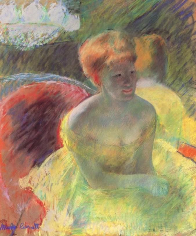 Mary Cassatt Painting of a woman