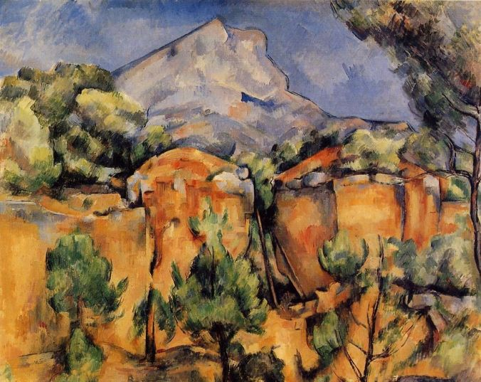 Paul Cezanne's Artworks of Bibémus Quarries