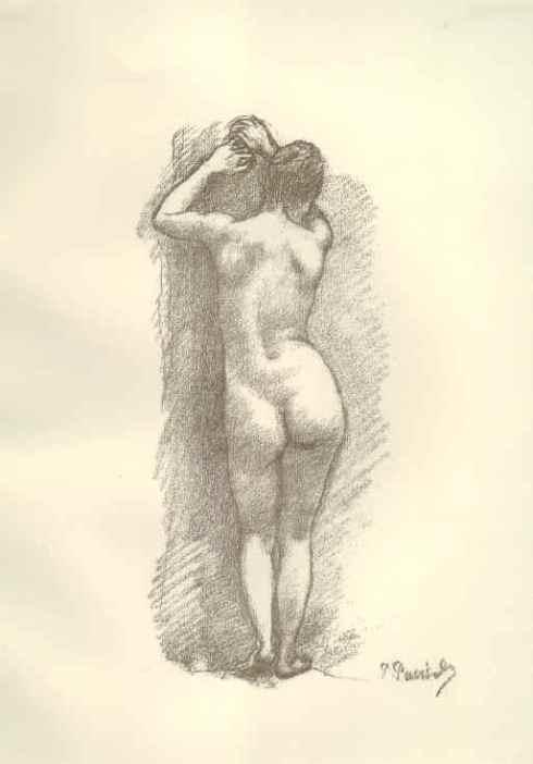 Pierre Puvis de Chavannes  - model Suzanne Valadon