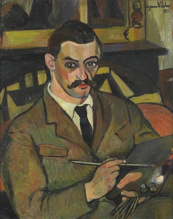 Portrait of her son: Maurice Utrillo by Suzanne Valadon