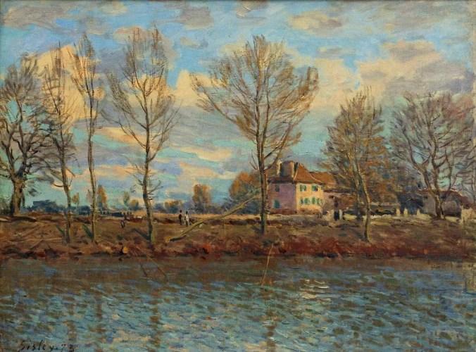 Grande Jatte - Alfred Sisley Painting