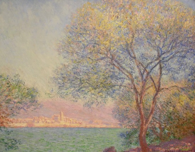 Claude Monet landscapes of Antibes Old Town