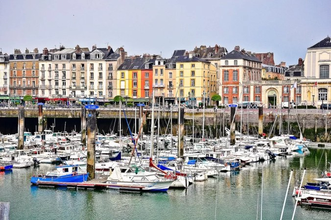 The Port of Dieppe - Normandy tourism -