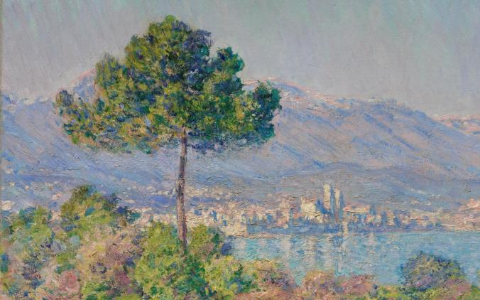 Claude Monet landscapes of Antibes