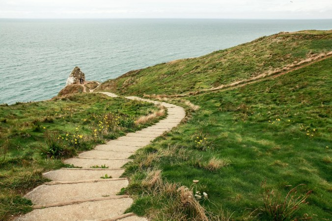 Alabaster Coast walking trail - Normandy tourism