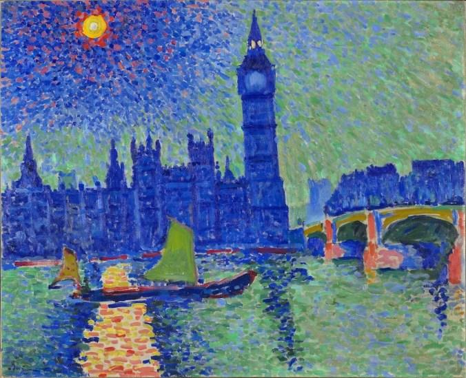 Andre Derain - French Painter - London cityscape - Fauvism art