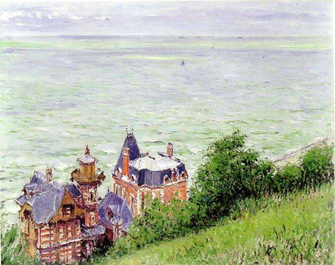 Trouville Normandy Painting - Caillebotte Impressionist Painting