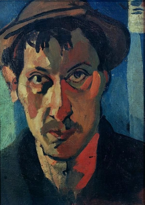 Andre Derain Self Portrait - Fauvism Art