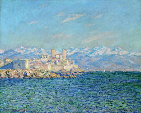 Claude Monet Artwork - Antibes in the afternoon
