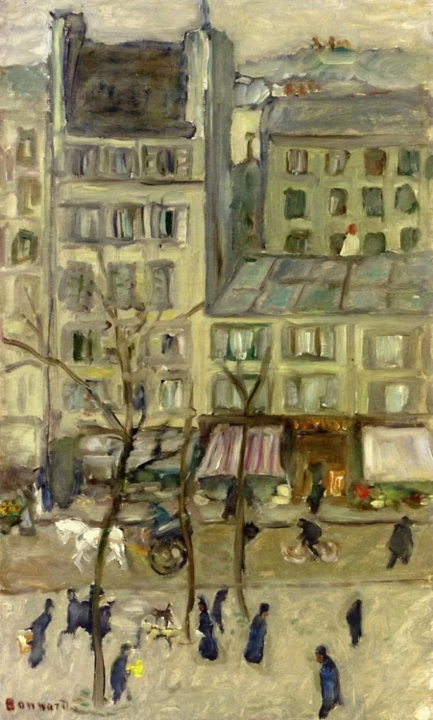 Pierre Bonnard Painting of a street scene
